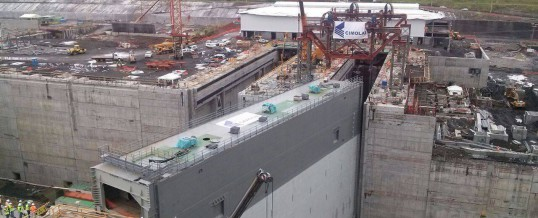 Gate Installation for Panama Canal Expansion