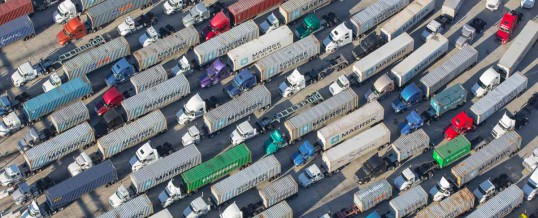 Amazing Photographs of LA Port Congestion