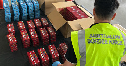 llicit Tobacco Taskforce Targets International and Domestic Tobacco Smuggling Rings